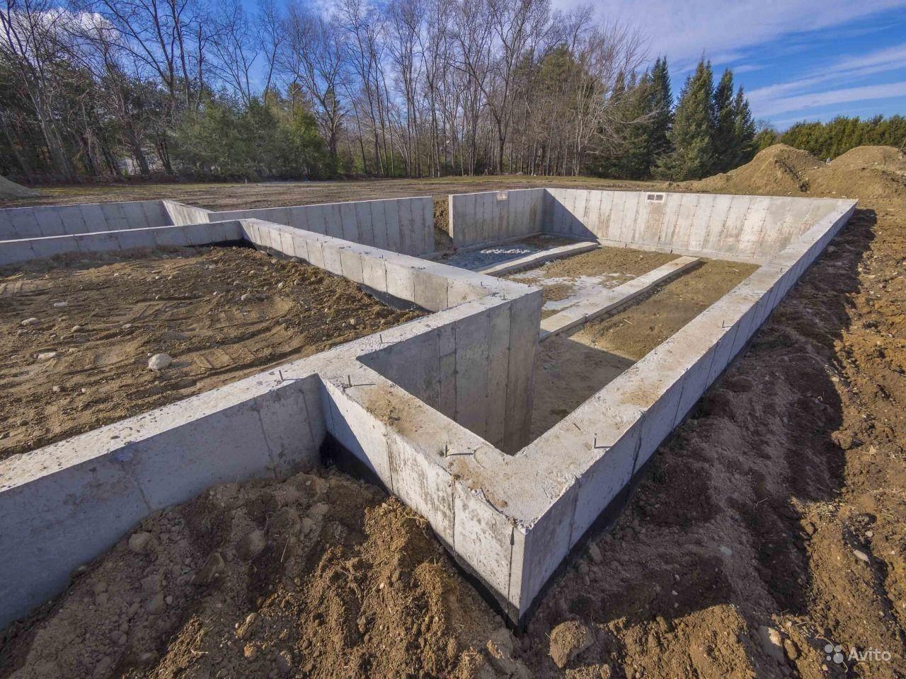Фундамент для постройки гаража в Химках