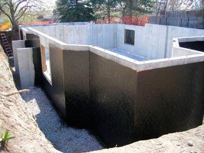 Гидроизоляция фундамента под ключ